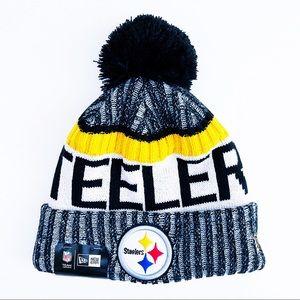 🆕 Pittsburgh Steelers New Era Winter Hat Beanie